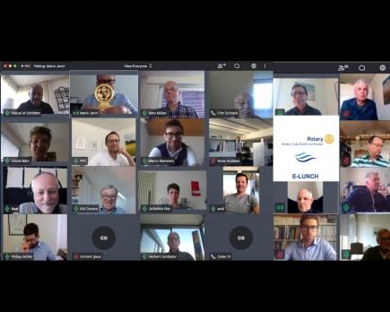 Rotary Club Zürich Limmattal erster e-lunch